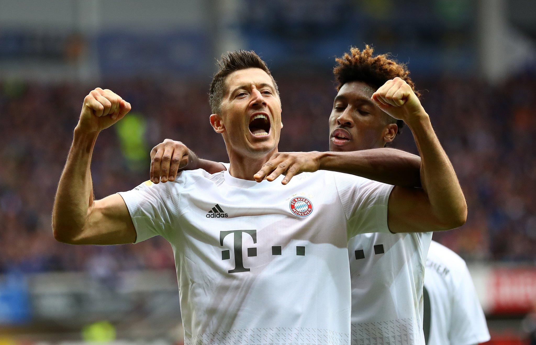 بالفيديو | بايرن ميونخ يفوز بصعوبة على العنيد بادربورن ويعتلي صدارة الدوري الألماني
