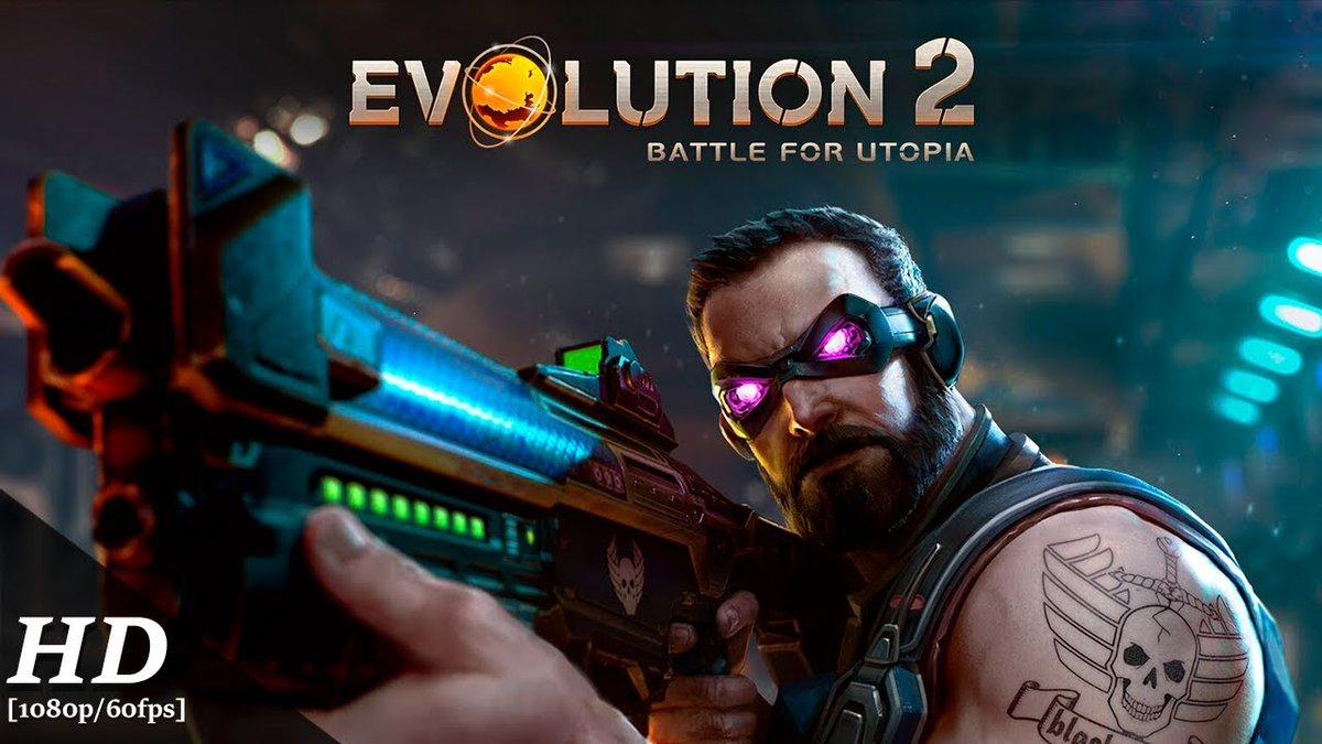 📲 Modded/Hacked App: Evolution 2: Battle for Utopia For iOS