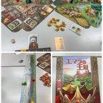 Image for the Tweet beginning: #市ヶ谷会 に参加しました!  本日遊んだ #ボードゲーム   #エマラの王冠 #なつめも #スカル #ディセプション  同席の皆様、インストしてくれた方、ありがとうございました!  #うちボド