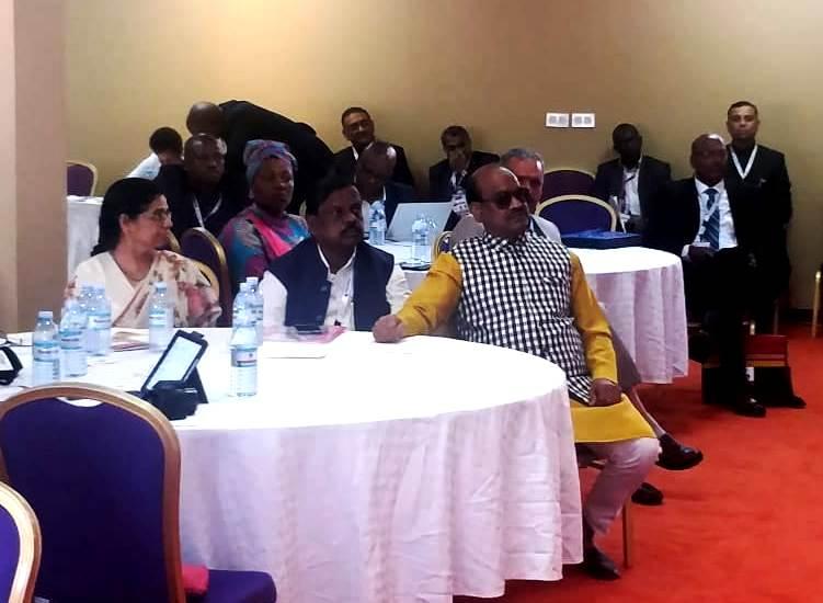 INDIAN PARLIAMENTARY DELEGATION OPPOSES PAKISTANI PROPAGANDA IN UGANDA