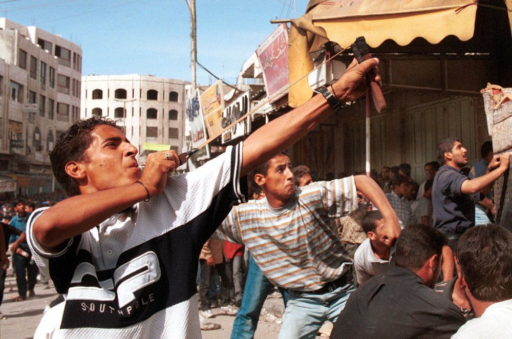 """redfish on Twitter: """"19 years ago, the Second Intifada broke out in  Palestine after Israel's opposition leader Ariel Sharon entered Al-Aqsa  mosque with heavily armed forces. After failed negotiations & brutal  oppression,"""