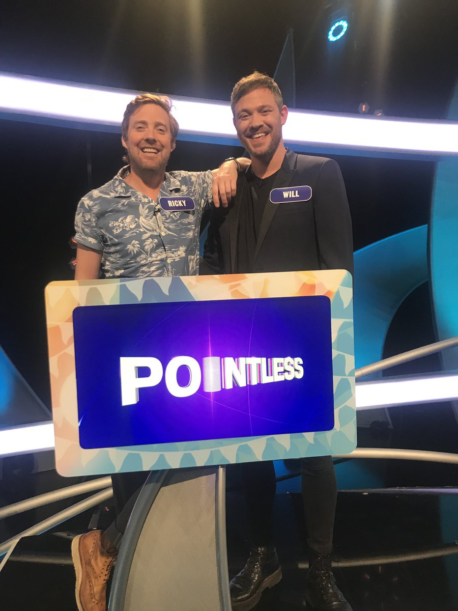 Lots of #pointless fun with @Rickontour looking forward to seeing it back twitter.com/Rickontour/sta…