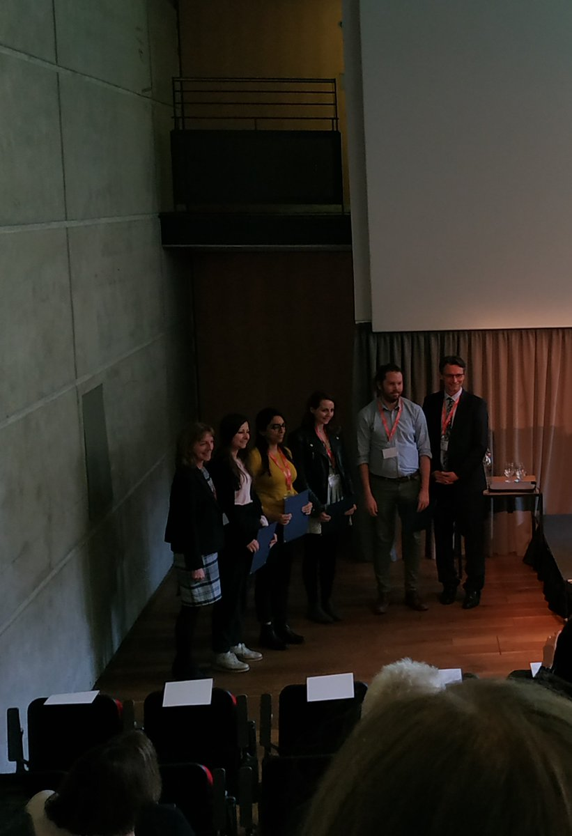 Here are the #BAS2019 poster prize award winners including our very own Ferheen Baig, with Prof. Francis and Prof. Mayr. Congratulations to all!