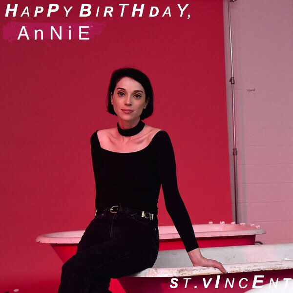 Happy birthday to Me, Hilary Duff, and most importantly the great St Vincent