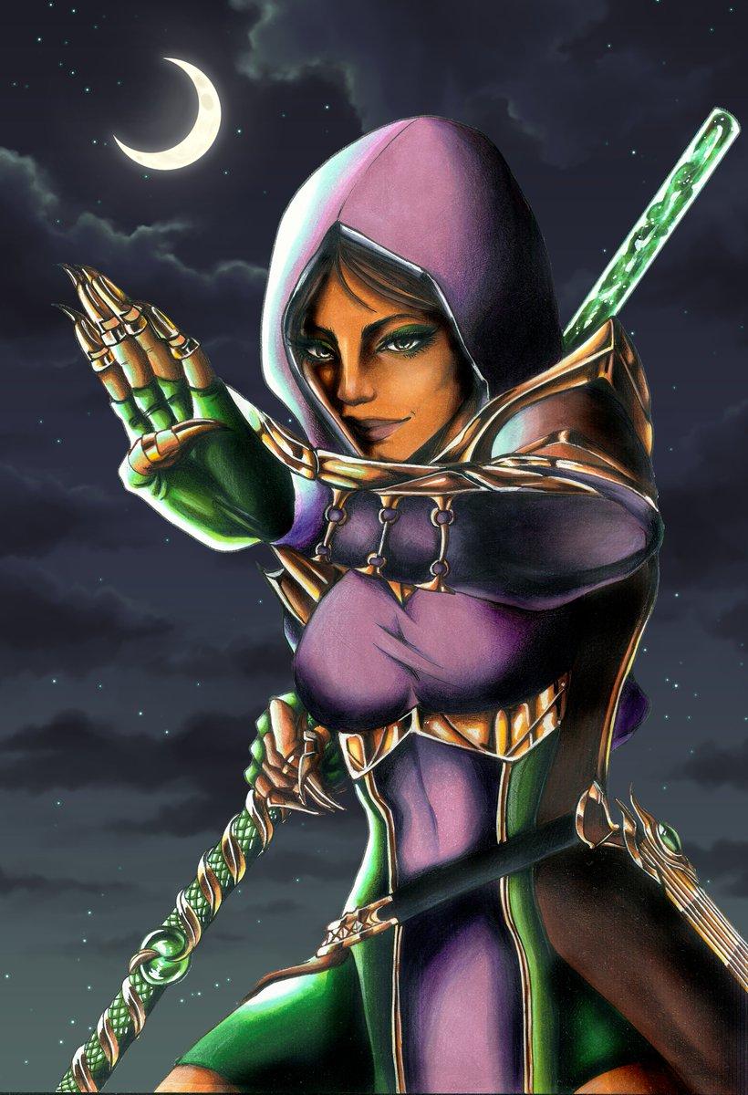 Valkyrie Dilara S Artworks On Twitter Jade Is Finally Done