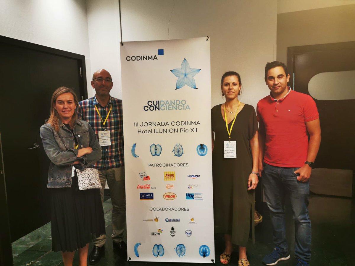 Hemos estado en las #3JCodinma aprendiendo junto a nuestros compañeros de @Codinma_DN