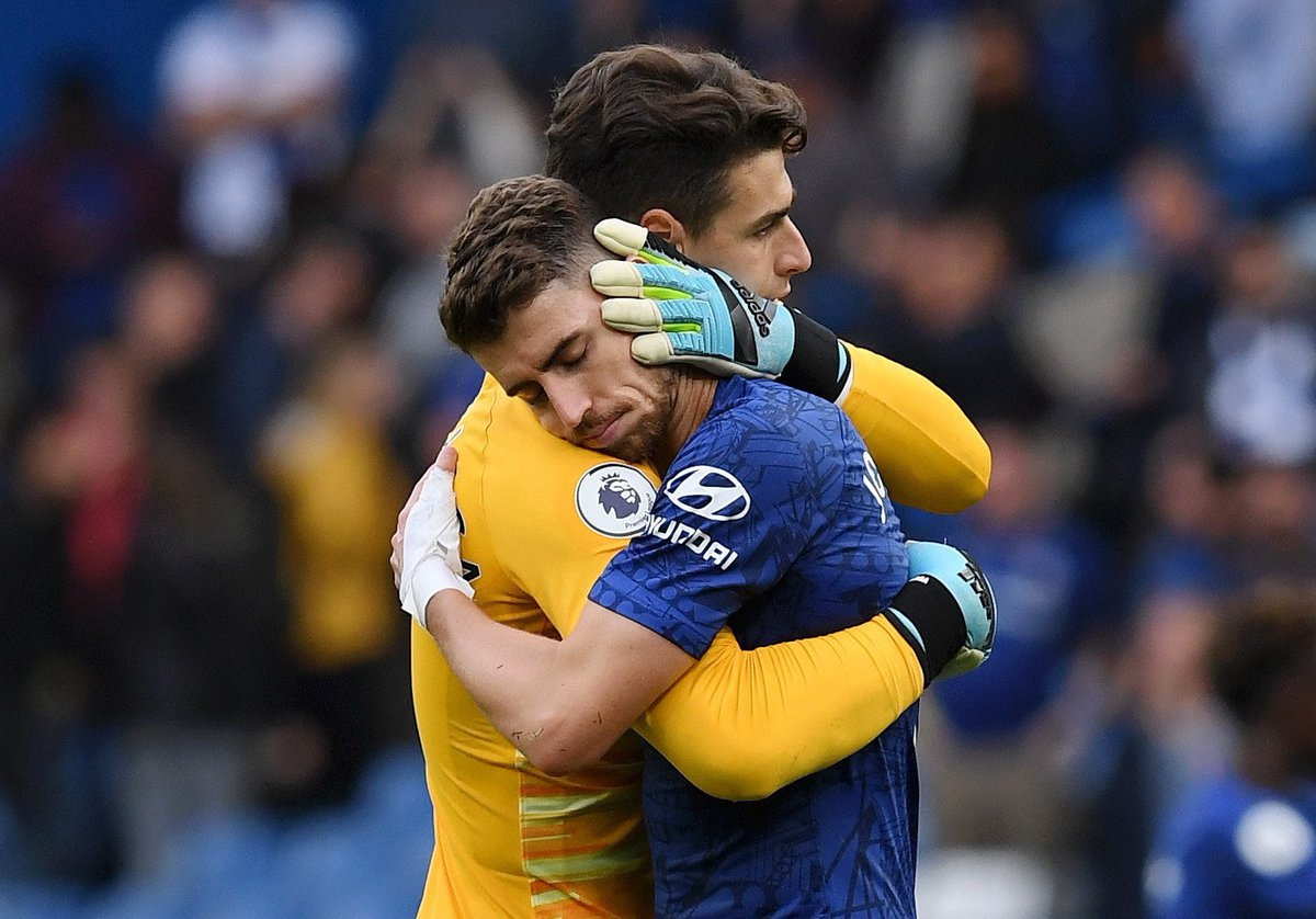 Great three points and clean sheet!! Keep working and focus on the wednesday game! 🤜🏼🤛🏼 @jorginhofrello @ChelseaFC