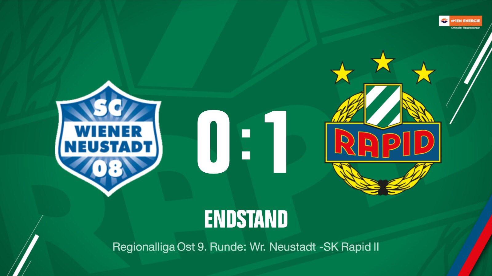 Sk Rapid On Twitter Ft Auswartssieg ℹ Sc Wr Neustadt 0 1 Sk Rapidii Skrapidii Scr2019