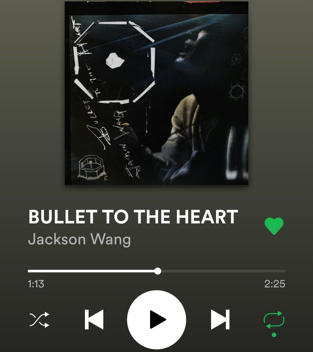 Hummmmm thats cool interesting. #Got7  #Jackys #JacksonWang  did u know...  I played #BulletToTheHeِart on repeat on spotify, on ROKU, and changed over to tv... And found out its still playing on roku 1 hr later!   New challenge! #BulletToTheHeartChallenge <br>http://pic.twitter.com/qpusHZcyCn