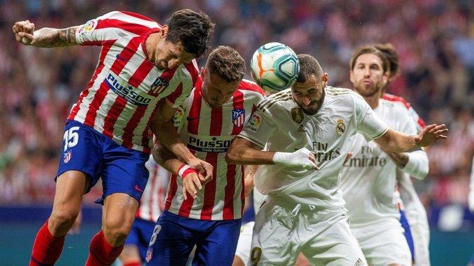 #LigaEspañola | Real Madrid empató con el Atlético y mantiene el liderazgo en España