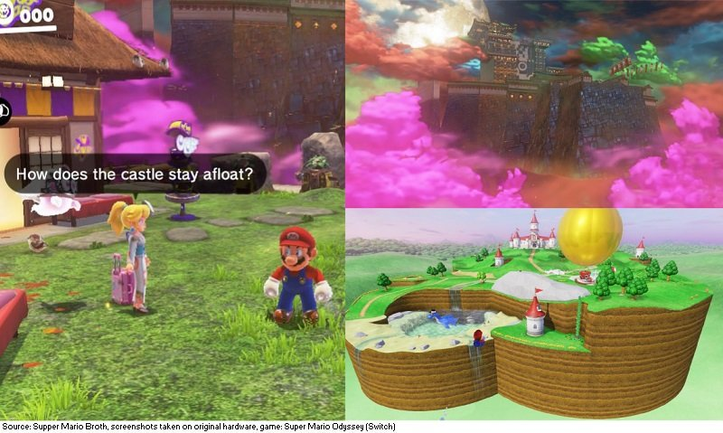 Supper Mario Broth S Tweet In Super Mario Odyssey Peach