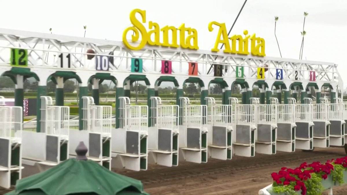 Were at @santaanita for the @BreedersCup on NBCSN! Stream here: nbcsnstream.nbcsports.com #WinAndYoureIN