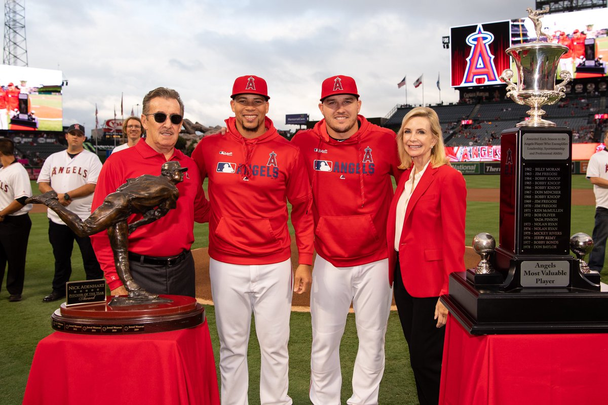 Trout awaits MVP vote, eager for healthy return