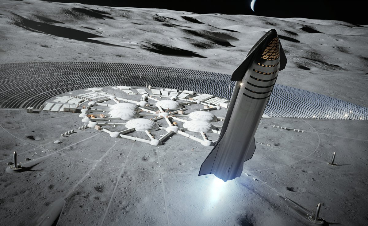 Starship will provide affordable delivery of significant quantities of cargo and people, essential for building Moon bases and Mars cities