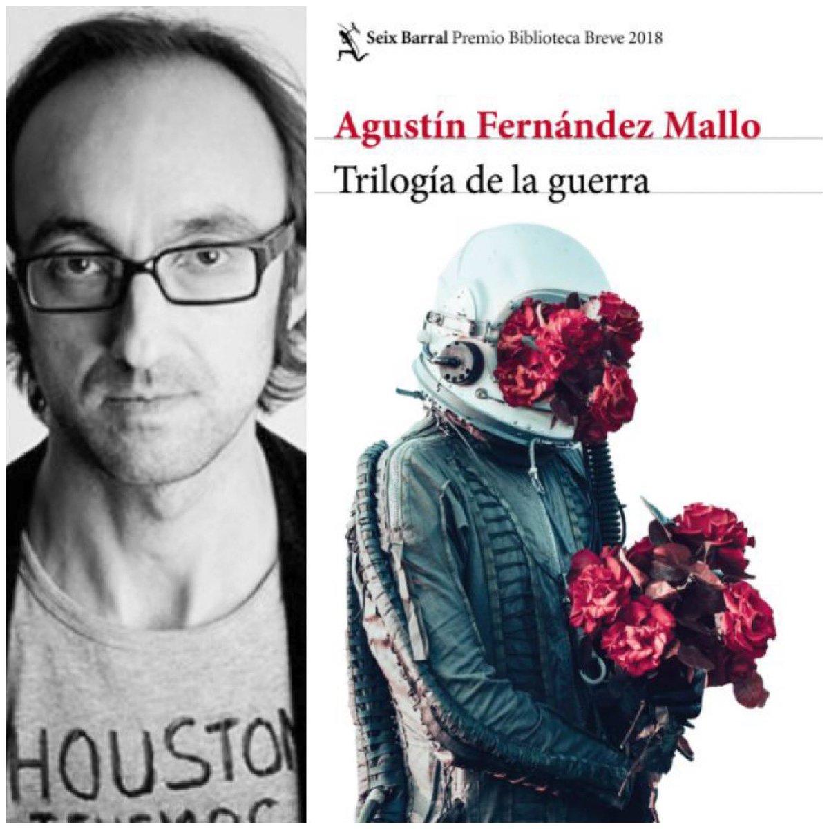 Sesión 83: 28 sep 2019 Elector : @LuisCuauh  Libro: #TrilogiaDeLaGuerra     Autor : #AgustinFernandezMallo