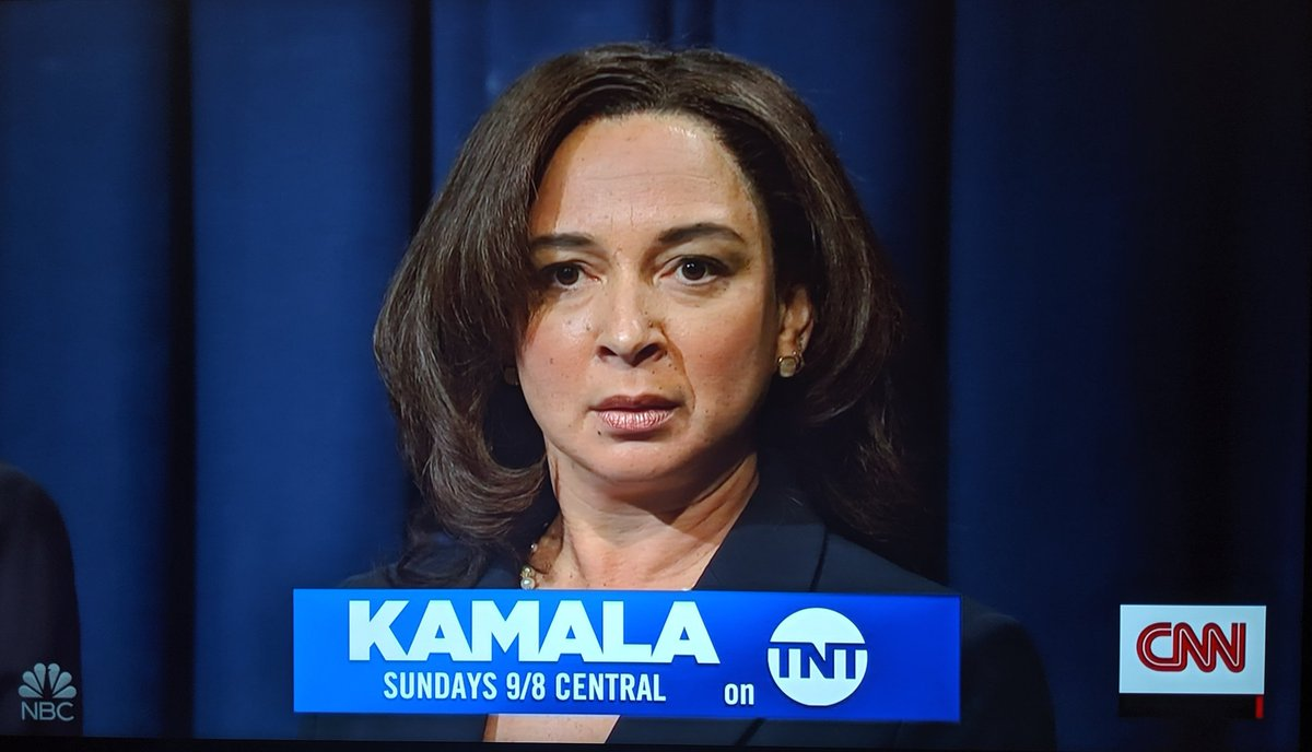 Low-key want Kamala Harris to get the nomination just so Maya Rudolph can keep playing her on #SNL