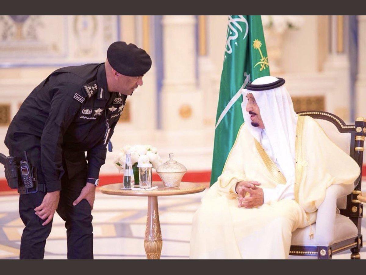 Генерал-майор Абдулазиз аль-Фагам — личный охранник Служителя Двух Святынь, короля Саудовской Аравии Сальмана бен Абдель Азиза Аль Сауда