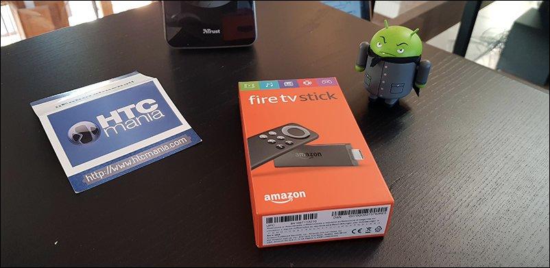 NUEVO SORTEO   Sorteamos un FireTV Stick de Amazon   Participa aquí     #sorteo #HTCMania