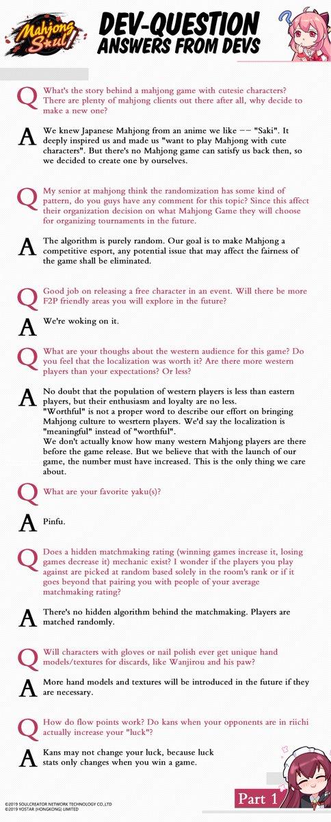 questions de matchmaking