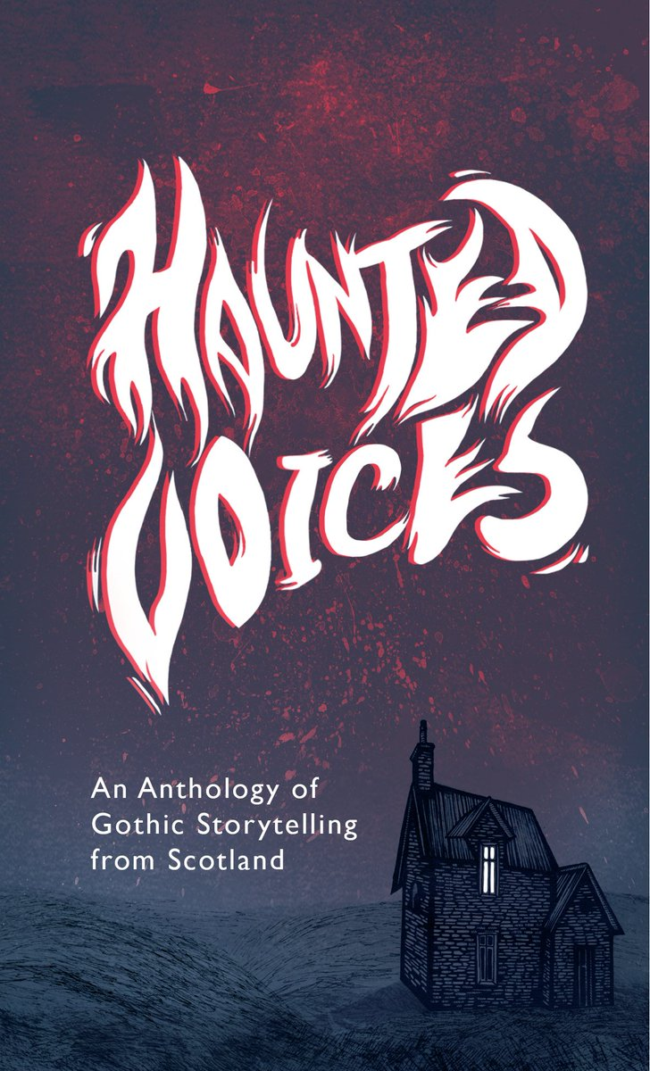 **COVER REVEAL & PRE-ORDER ALERT** Lovers of Gothic and Scottish oral storytelling - behold! We could not be happier with our cover for #HauntedVoices, designed by @firstaidkiddo. Also, you can now pre-order the paperback! Let all your ghouls know: hauntpublishing.com/books/haunted-…