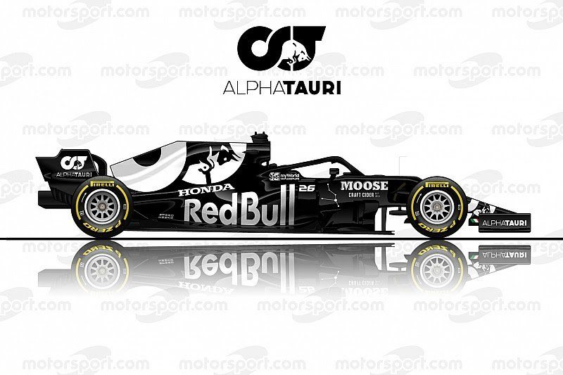 Toro Rosso have submitted a request to the FIA to change their name to Alpha Tauri from 2020, to promote Red Bull's fashion brand.  Below is a mock-up by http://Motorsport.com of what their car could look like. What do you think? 📣🏁 #F1 #RussianGP #ToroRosso