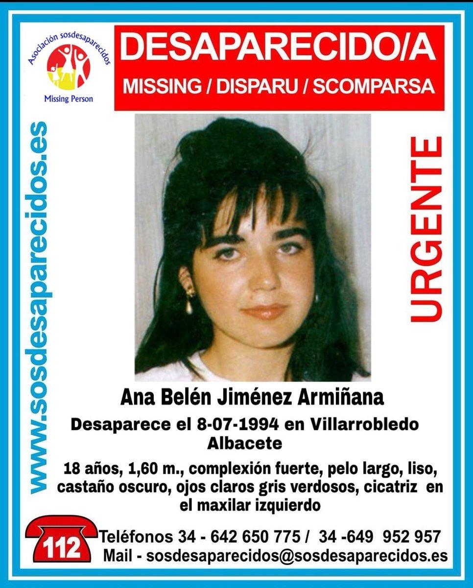 RT @AlertaAmbar: CONTINUA DESAPARECIDA #desaparecido #sosdesaparecidos #Missing #España #Villarrobledo #Albacete https://t.co/uIBkGV4OdG ht…