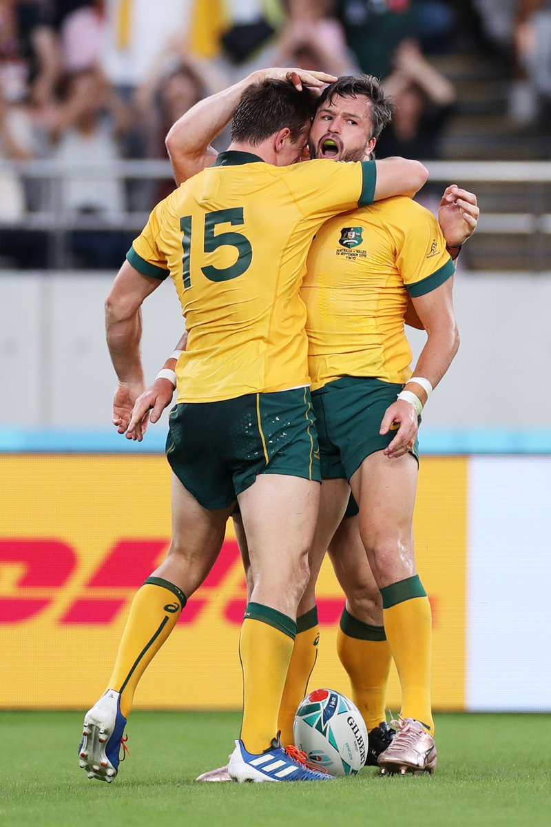 @rugbyworldcupjp's photo on Wallabies