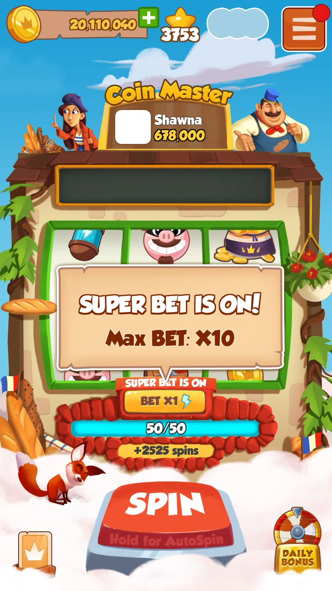 Free coin master spin