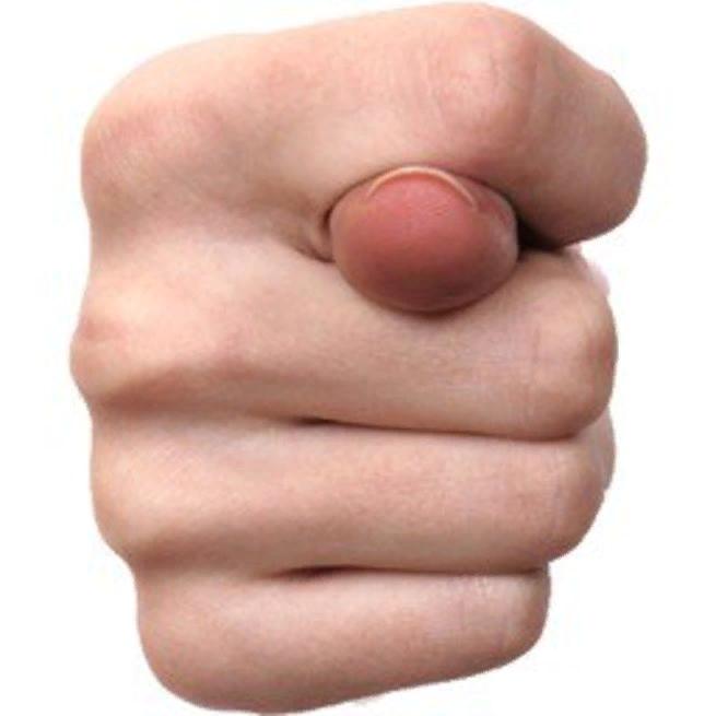 Днем рождения, картинка фига из пальцев смешная женская