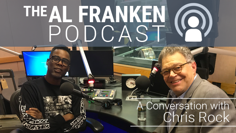 Today,* @chrisrock  and I talk about about our time together at #SNL . Rock claims that I saved his career by telling him a story of caution that changed his entire approach to his work. *NOTE: Starting TODAY The Al Franken Podcast goes up on SUNDAY!!!  https://alfranken.com/listen