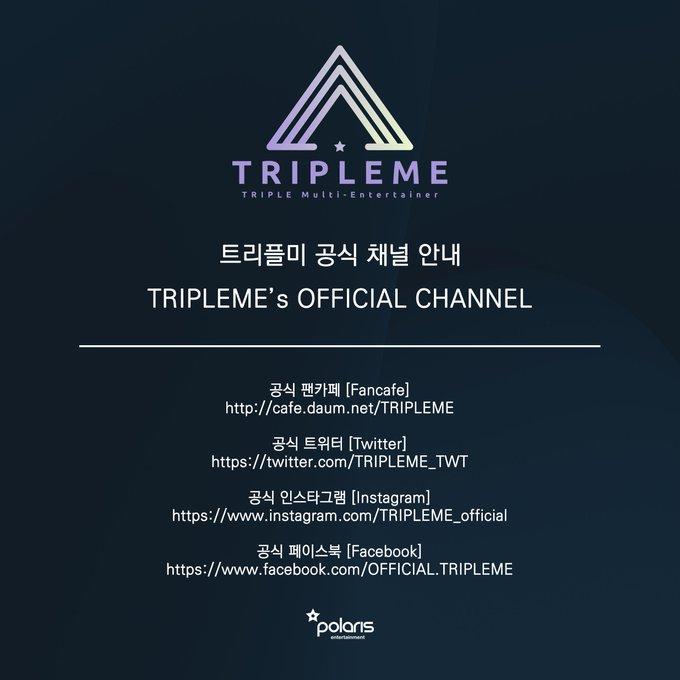 Polaris Entertainment announces new multi artist group, TRIPLEME 3
