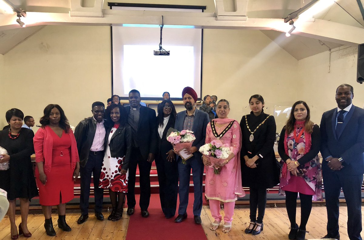 Enjoyable #TheFort Slough Community Church official opening. In my speech thanked them for amazing welcome, spoke of church's history (recently welcomed @jeremycorbyn here), importance of their community cohesion work & serving vulnerable in Slough, #Africa, #Philippines & beyond