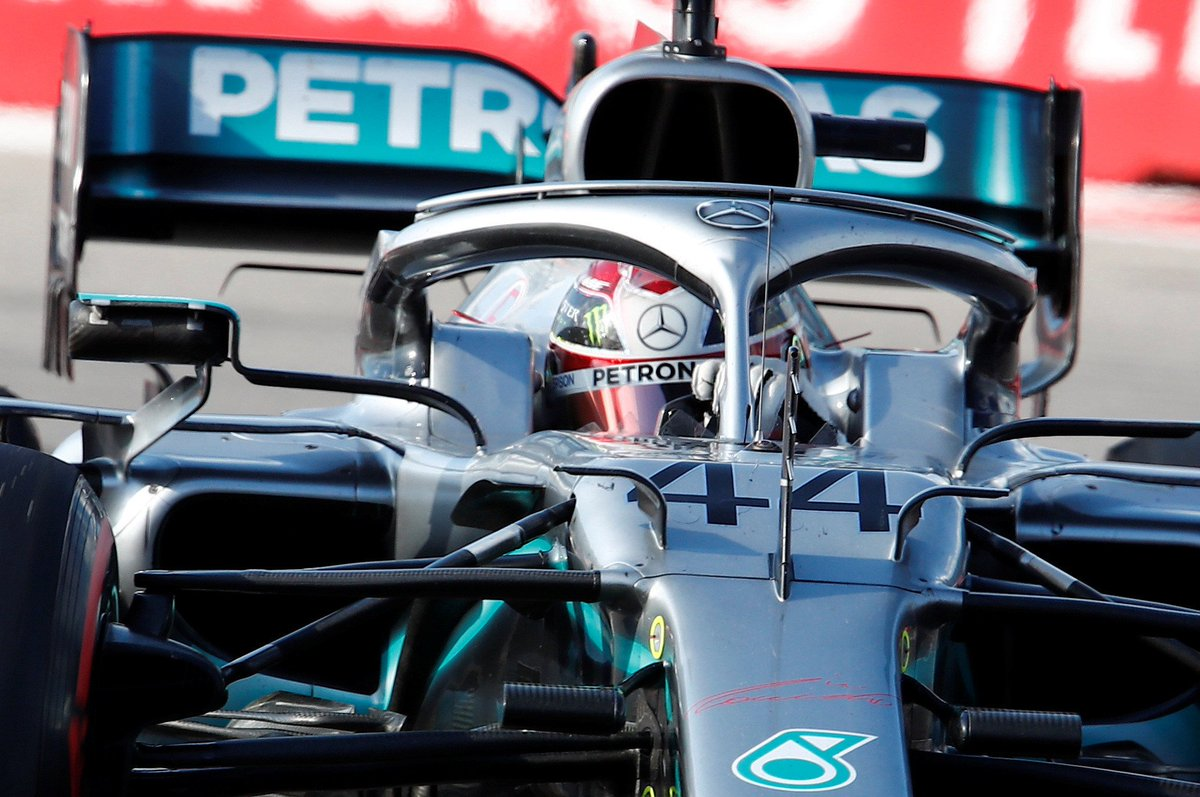 Who saw that coming?! Lewis Hamilton wins the 2019 #RussianGP after Vettel's retirement handed Mercedes track position under the safety car! #F1