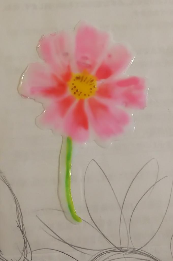 test ツイッターメディア - 花シリーズ 出来ましたよ  #ダイソー #ガラス絵の具 #花 #桜 #ひまわり #コスモス #ポインセチア https://t.co/oh1sntR75a
