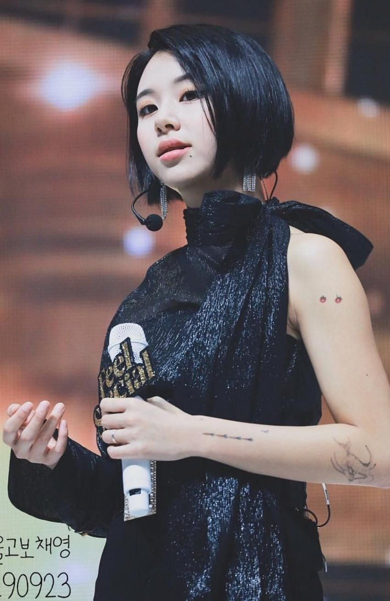 Pann Kpop On Twitter The Female Idol Who Is Addicted To Tattoos Knetz React Https T Co Hn185efnvu