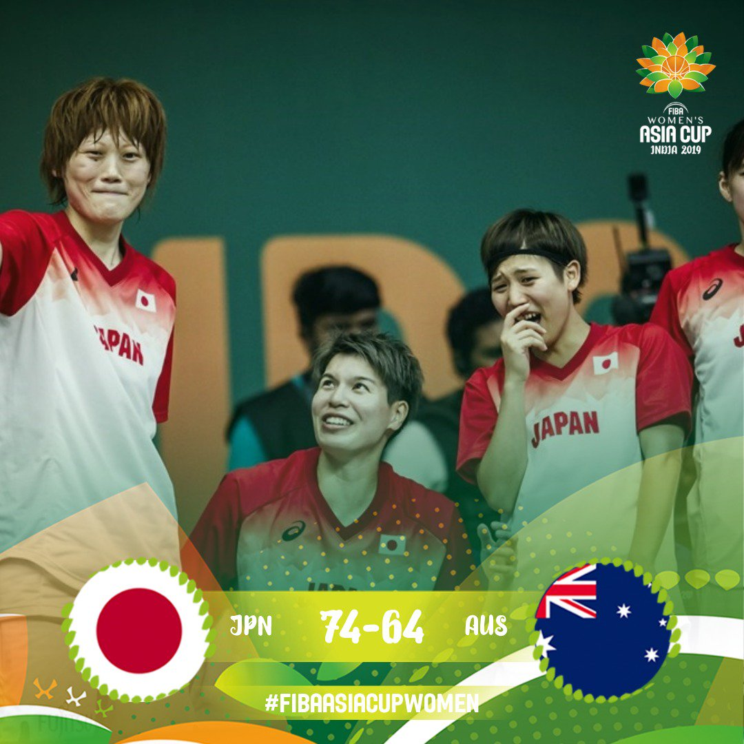 Congratulations @JAPANBASKETBALL 🏆🏆🏆🏆 #FIBAAsiaCupWomen