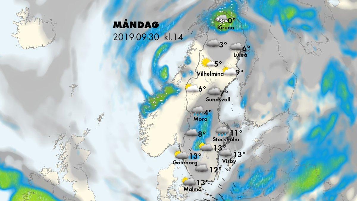 vädret göteborg imorgon