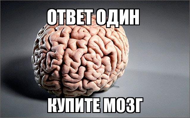 Картинка прикол мозги