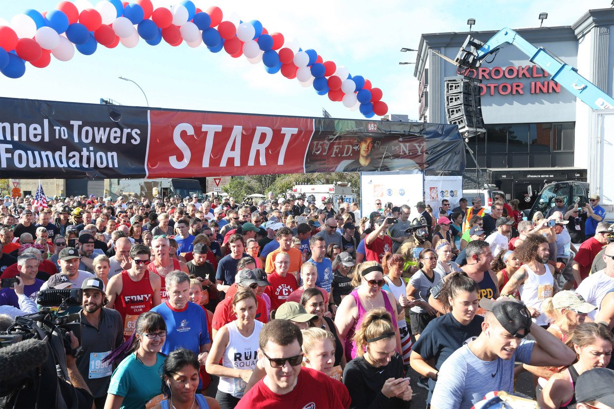 Thousands of runners retrace 9/11 hero's route in Tunnel to Towers race trib.al/RqVEJ2V