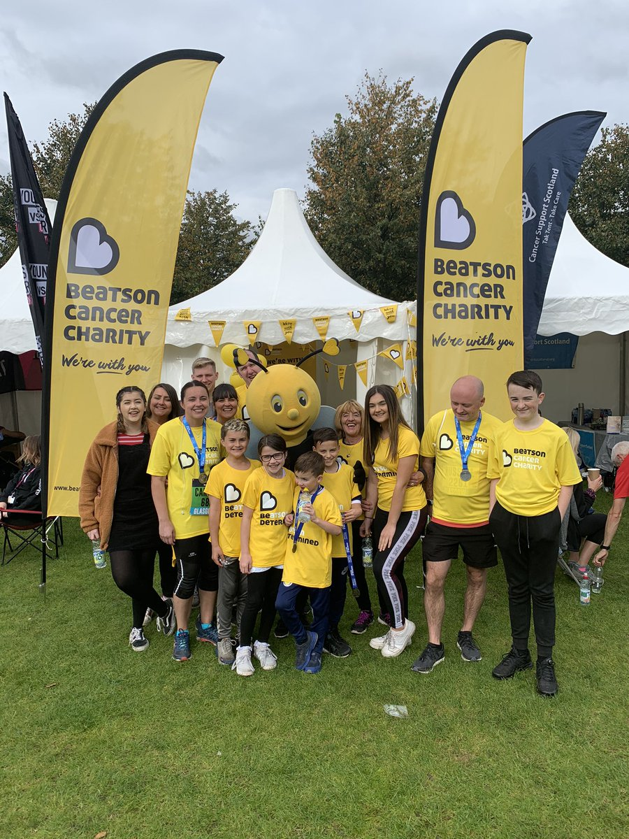 Huge thank you to all the @GreatScotRun participants who ran for @Beatson_Charity  it was a pleasure to meet you all & hope you enjoyed the snacks!  @karen_BCC1 and myself had a ball! #teambeatson