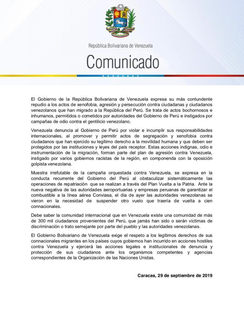 Tag comunicado en El Foro Militar de Venezuela  EFpIMOtXUAAzMkQ