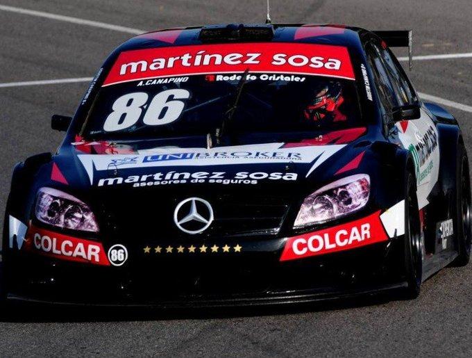 #TopRaceV6 | Canapino volvió al triunfo en la segunda carrera en Alta Gracia