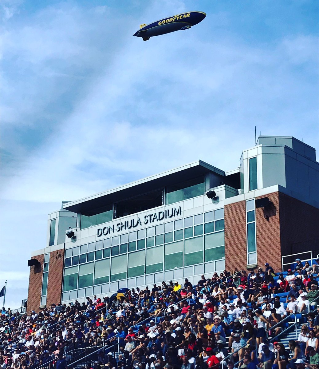 Yesterday: @JCUFootball's Don Shula Stadium. Today: @DonShula's stadium. There's levels to this.