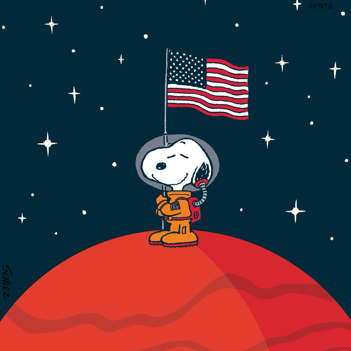 Learn all about the Red Planet during a Twitter chat between @snoopy and @MarsCuriosity taking place Monday, September 30th at 8 a.m. PT/11 a.m. ET! #AstronautSnoopy