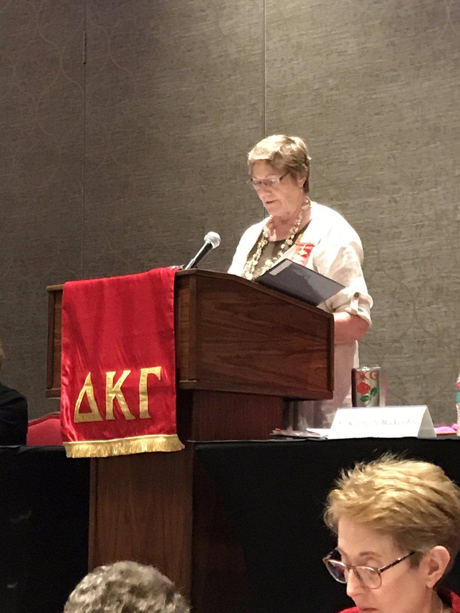 Virginia State Executive Board Meeting Highlights #DKG_VA