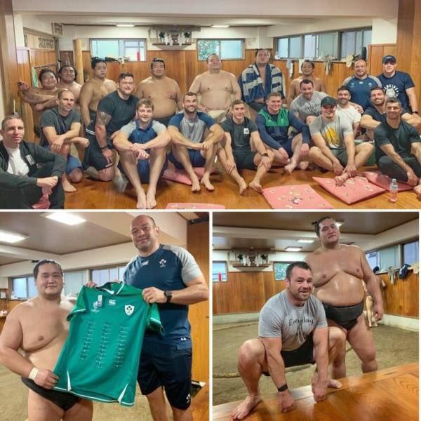 【朗報】日本で観光を楽しむラグビー代表選手達の様子がこちらwwww