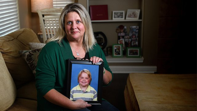 A piece of her heart will always belong to Riley - Her little boy's death was devastating, but his life was amazing, and that's why Kim Mears celebrates her son by volunteering at the hospital and continuing his mission of making others smile. iuh.me/2ohWFCc