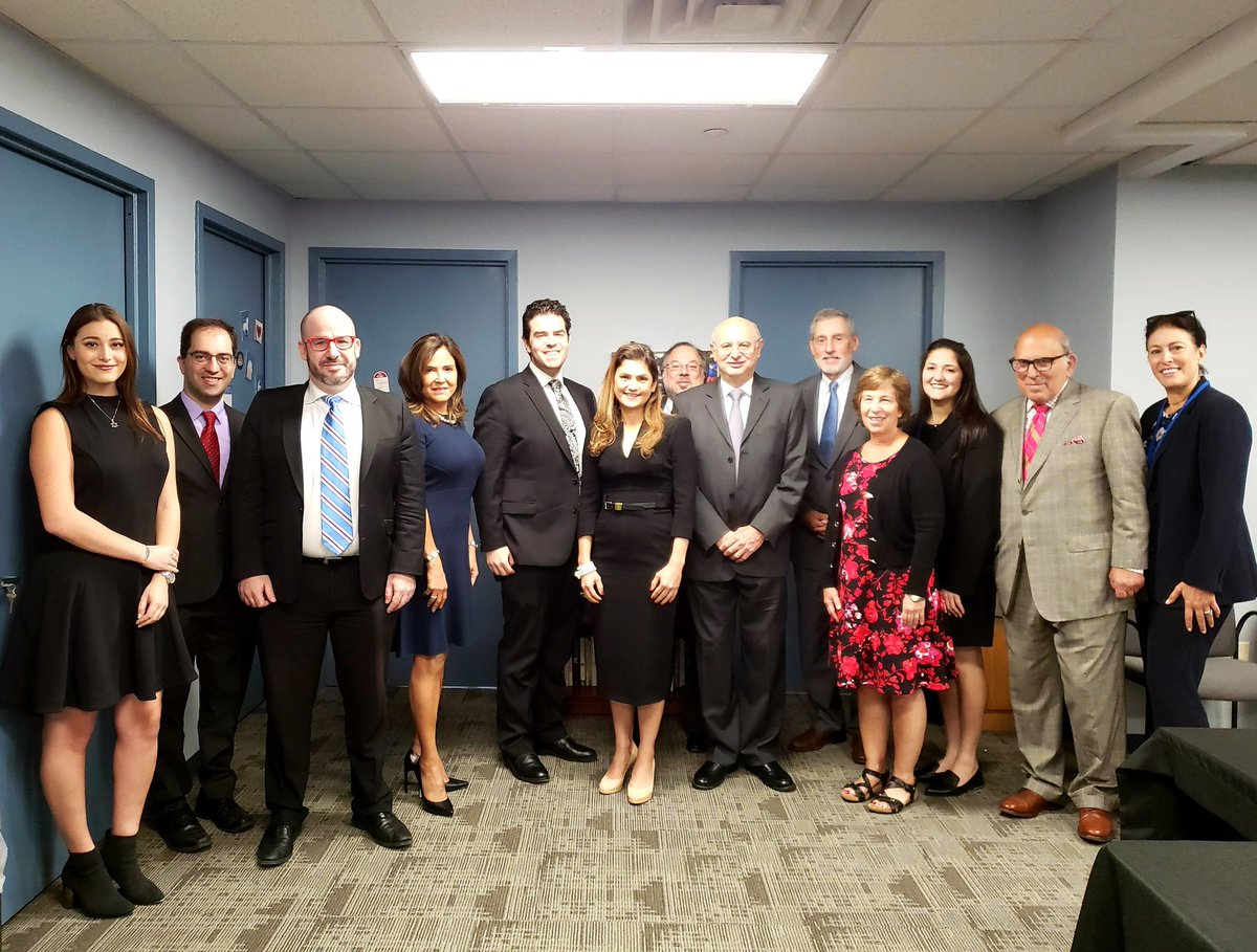 Bnai Brith representatives hosted a meeting with Panamas Vice-Minister for Multilateral Affairs Erika Mouynes at the 2019 UNGA session in New York. See photos from the meeting here. @ErikaMouynes #UNGA2019