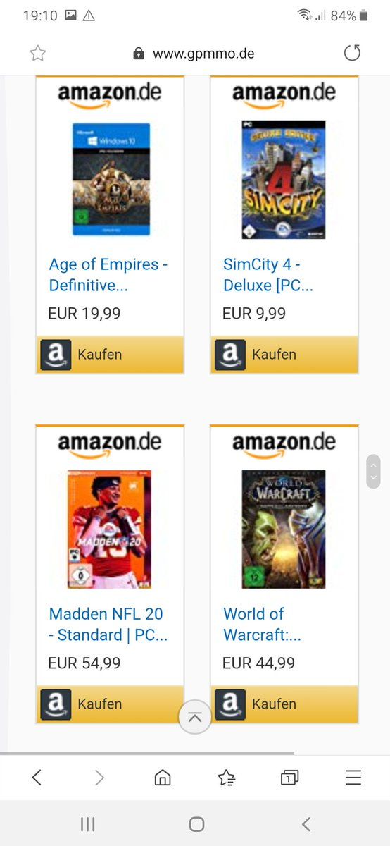 #amazon #keys #games #ps4 #xbox #nintendo #hardware #software #gpmmo #mmo #fortnite #wow #germangames #germangamer #gamingdeutschland #deutschland #csgo #pubg #deals #germandeals #amazongermanypic.twitter.com/v0FpqxQVu5