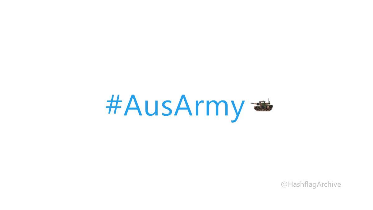 #AusArmy